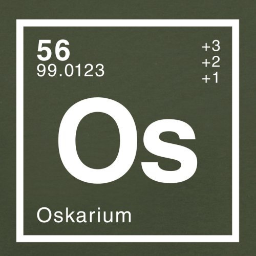 Oskar Periodensystem - Herren T-Shirt - 13 Farben Olivgrün