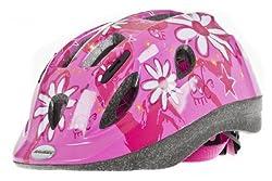 Raleigh Girl's Mystery Cycle Helmet - Pink, 52-56 Cm