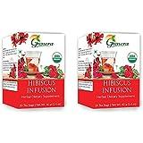 Grenera Organic Hibiscus Infusion Tea - 20 Tea Bags / Box (2)