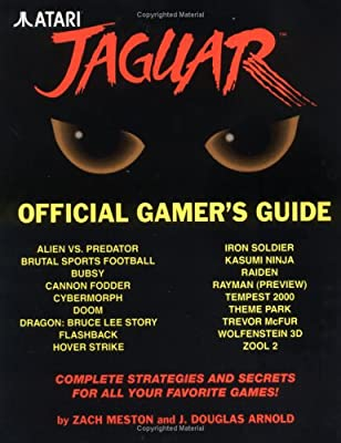 Atari Jaguar Official Gamer's Guide Book (Jaguar) by Atari
