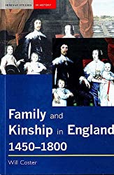 Family and Kinship in England, 1450-1800 (Seminar Studies In History)