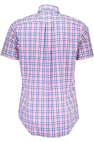 GANT Herren Freizeithemd Albatros Cotton & Linen Check ROSA 630