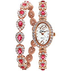 Diamond fashion and English/ fashion ladies Bracelet Watch/Simple casual watches-A