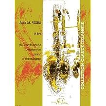 Partition : A feu - Saxophone ténor en sib, bandonéon, piano et contrebasse - Partition et partie(s)