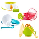 #5: Nuby Garden Fresh Mash N' Feed 4-Piece All-In-One Baby Food Preparation & Feeding System(Assorted)