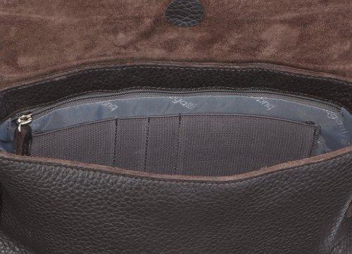 Bugatti 49553202 Messenger Bag, Valigetta unisex adulto - Marrone Marrone