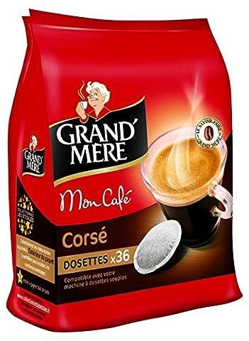 GRAND MERE Corsé 36 dosettes souples - Lot de 3 (108 dosettes)