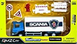 #9: RMZ City - 1/64 Scania Container Transporter Truck Play Set