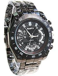 ufengke® lässig standardskala männer sports armbanduhren stahlband uhr, dekorative kleine Zifferblätter