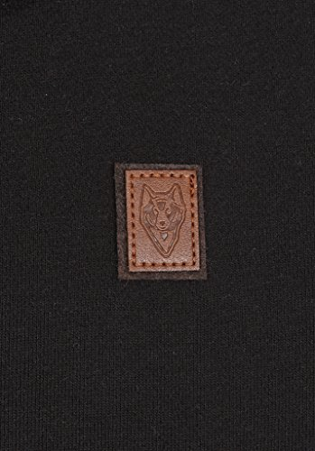 Naketano Male Sweatshirt Der Muschiflüsterer III Black
