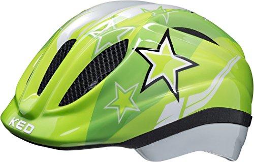 KED Meggy II Helmet Kids Green Stars Kopfumfang M | 52-… | 04036638080868