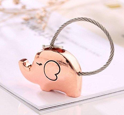 KinTTnyfgi. Llavero con diseño de elefantes besando dulces regalos para parejas, decoración...