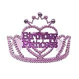 Girls and Womens Kids Birthday Princess Tiara