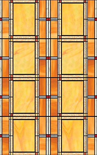 d-c-fix? Sticky Back Plastic (self adhesive vinyl window film) Stained Glass Effect Arts and Crafts 45cm x 2m 346-0437
