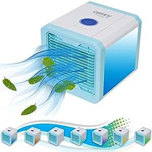 3in1 mini aircooler mobile klimaanlage tischventilator luftk hler klimager t klima. Black Bedroom Furniture Sets. Home Design Ideas