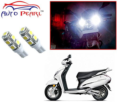 Auto Pearl - LED Parking Bulb Pilot Light / Daytime Running Lens Led Light (4040) For - Honda Activa 125  available at amazon for Rs.289