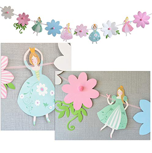 Prinzessin Party Dekoration (Girlande) (Party Prinzessin Dekorationen)