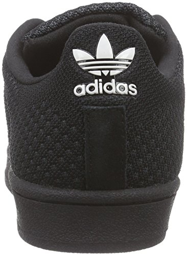 adidas Originals Superstar Weave, Sneakers basses mixte adulte Noir - Schwarz (Core Black / Core Black / Core White)