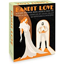 Bandit Love (Boxed Notecards): Romance Book jackets from the 1920's and 30's