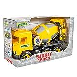 Tigres Wathose 39493Auto Mitte Truck Beton Mixer in Einer Box, gelb
