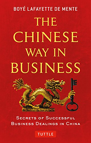 Download Pdf Chinese Way In Business Secrets Of Successful