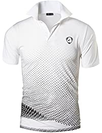 Jeansian Homme De Sport Outdoor Manches Courtes Polos Quick Dry Men Casual Wicking Breathable Running Short Sleeved Fitness Polo T-Shirt Tops LSL195