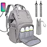 Best Baby Backpack Diaper Bags - Baby Diaper Bag Backpack, Multi-Function Waterproof Maternity Nappy Review