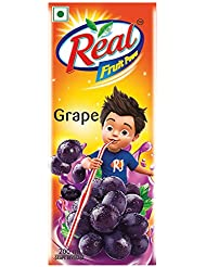 Real Fruit Power Grape, 200ml
