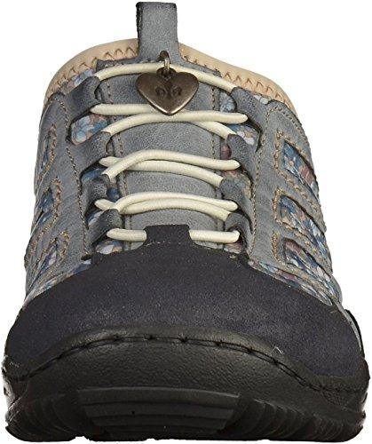 RIEKER Scarpe Mules - L0555-14 - blue Blu (Blau (navy/atlantic/kornblume 14))