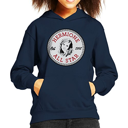 Converse Hermione Granger All Star Kid's Hooded Sweatshirt All-star-pullover