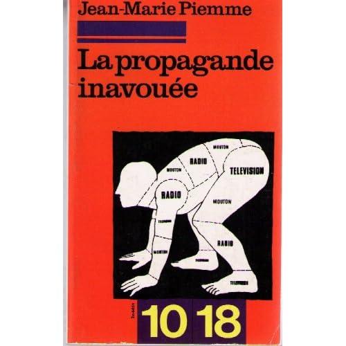 La propagande inavouee
