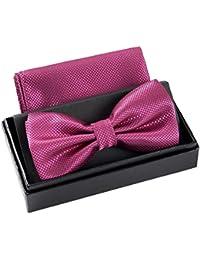 15b78ab380fc9 Massi Morino Pajarita con pañuelo en caja de regalo