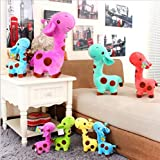 upupupup Juguetes Blandos Peluches 18X7Cm Cute Plush Soft Giraffe Toy Animal Doll Baby Child Birthday Gift 1Pc @ Yellow