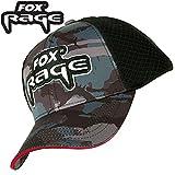 Fox Rage Camo Trucker Cap - Anglercap für Spinnangler, Angelcap für Angler, Cappy, Schirmmütze,...