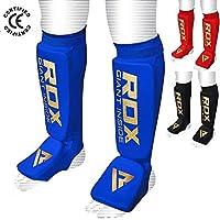 RDX Schienbeinschoner Boxen MMA Schienbeinschutz Kampfsport Kickboxen Schienbein Schienbeinschützer Beinschützer(CE Bescheinigt Genehmigt Durch SATRA)