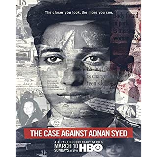 The Case Against Adnan Syed - Poster - cm. 30 x 40 - shipped rolled inside heavy tube