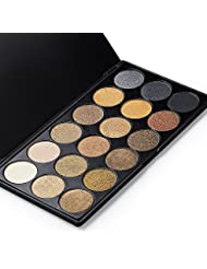 VALUE MAKERS 18 Colors Eyeshadow Eye Shadows Palette-Beauty Cosmetic Shimmer Eye Shadows-Glitter Smoky Eye Shadow Palette-Makeup Kit Set Make Up