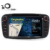 A-SURE Autoradio DVD Player mit GPS Navi für Ford Mondeo Focus C-MAX S-MAX Galaxy KUGA mit DAB Antenne Autoradio Mirrorlink Bluetooth Radio RDS original Kartematerial Farbe: Schwarz (49 europäische Länder)W4FFBAQ 2-Jahre-Garantie (DAB Antenne mitgeliefert)