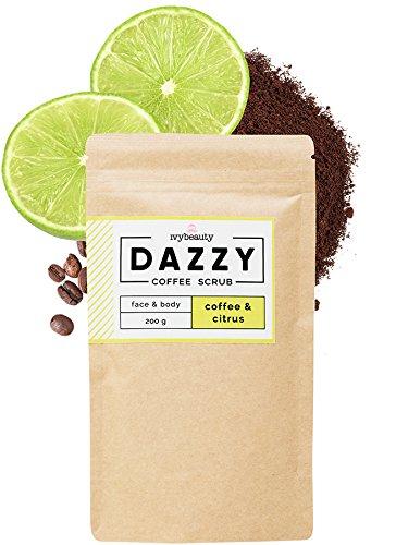 Citrus-peeling (Neu DAZZY Coffee Scrub | Coffee & Citrus | Body Peelings mit himmlischen Geschmacksrichtungen für Körper und Gesicht (DAZZY Coffee & Citrus, 200gr))