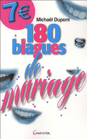 180 blagues de mariage
