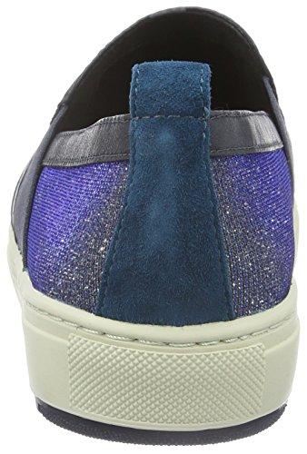 Geox D Breeda A, Baskets Basses Femme Blau (DK NAVYC4021)