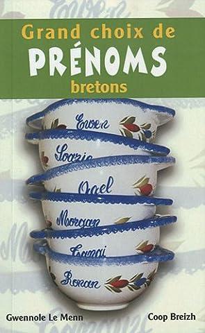 Prenoms Bretons - Grands choix de prénoms