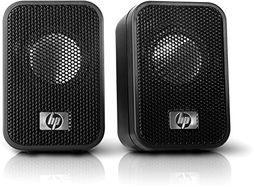 HP Notebook Speakers - Altavoces de ordenador, negro