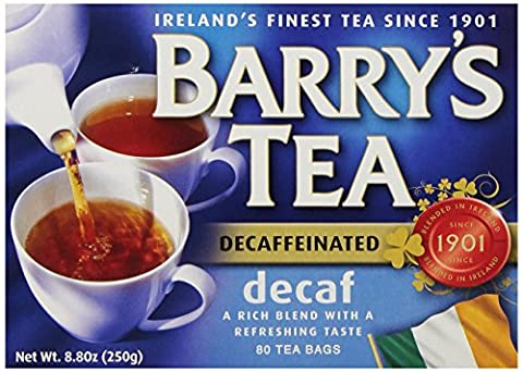 Barrys Tea Decaffeinated Tea Bags - 80