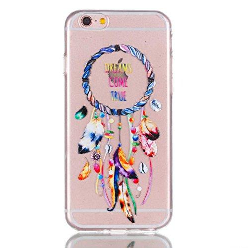 iPhone 6 Plus Hülle,iPhone 6S Plus Schutzhülle, MSK Taschen Schalen Flexible TPU Weiche Rückwärtige Schutzhülle Case Für iPhone 6 Plus & iPhone 6S Plus - elegant #F elegant #F