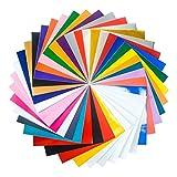 Teckwrap 30x30 cm 38 Stück Bastel Plotter Schneidplotter Selbstklebende Folie Silhouette Cameo Portät, Brothers Scan and Cut
