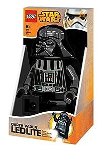 LEGO Star Wars - Linterna Ledlite con diseño de Darth Vader, color negro (812748L)