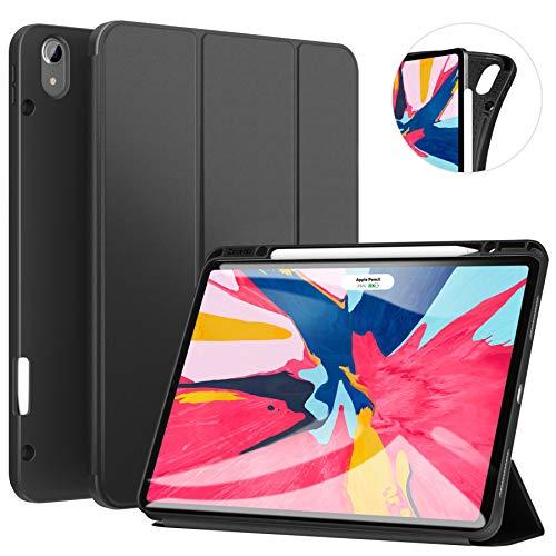 Ztotop Coque pour iPad Pro 12.9 Pouces 2018, Ultra-Mince Smart Case Cover Étui De Protection avec...