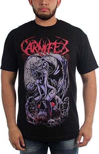 Carnifex -  T-shirt - Uomo Black X-Large