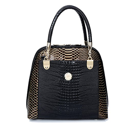 Handtaschen Neue Europäische Und Amerikanische Mode Handtasche Umhängetasche Handtasche Black